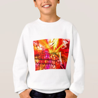 hot striped maize sweatshirt