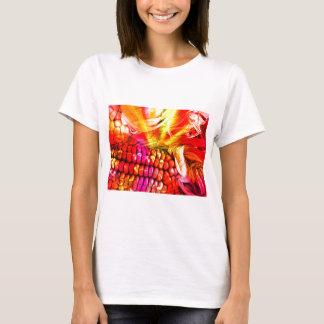 hot striped maize T-Shirt