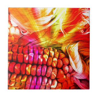 hot striped maize tile