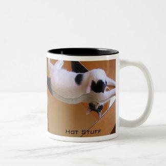 Hot Stuff Bun Two-Tone Coffee Mug