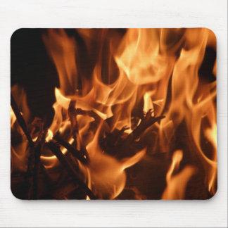 Hot stuff mouse pad