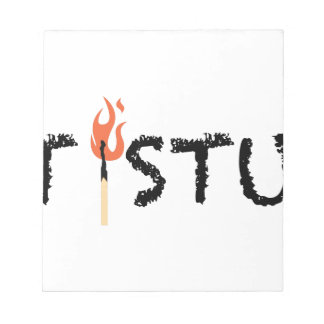 Hot Stuff Notepad