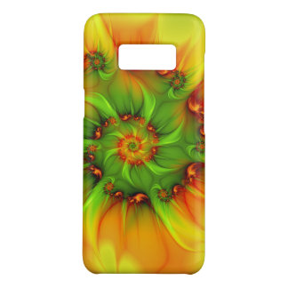 Hot Summer Green Orange Abstract Colorful Fractal Case-Mate Samsung Galaxy S8 Case