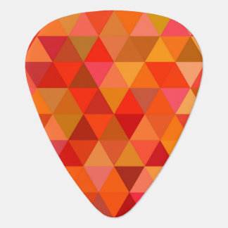 Hot sun triangles guitar pick