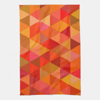 Hot sun triangles hand towel