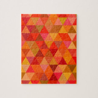 Hot sun triangles jigsaw puzzle