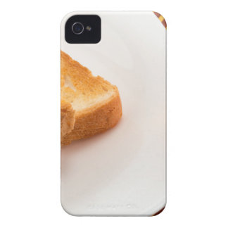 Hot toast with butter and cup of tea Case-Mate iPhone 4 case