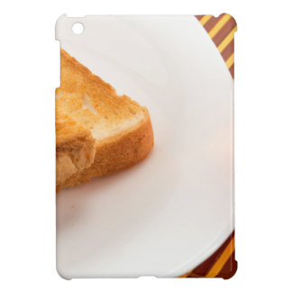 Hot toast with butter and cup of tea iPad mini cases
