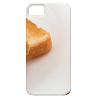 Hot toast with butter and cup of tea iPhone 5 cases