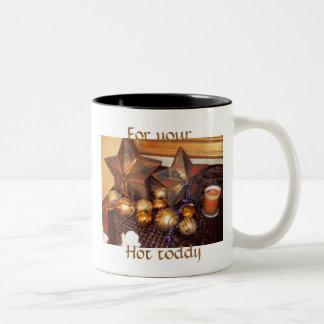 Hot toddy Two-Tone coffee mug