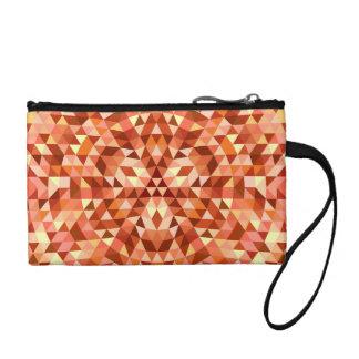 Hot triangle mandala coin purse