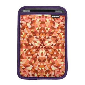 Hot triangle mandala iPad mini sleeve
