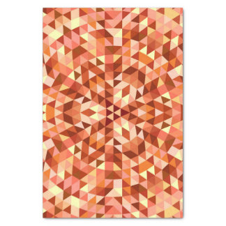 Hot triangle mandala tissue paper