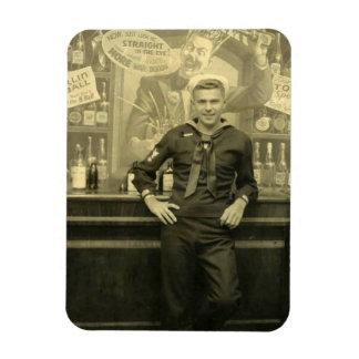 Hot Vintage Sailor Magnet