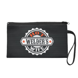 Hot Welder's Wife Wristlet