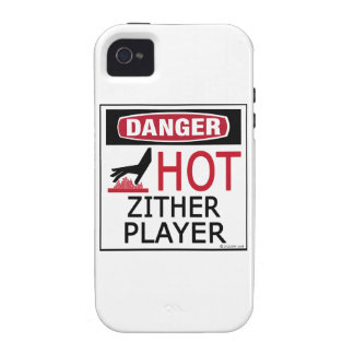 Hot Zither Player Vibe iPhone 4 Case