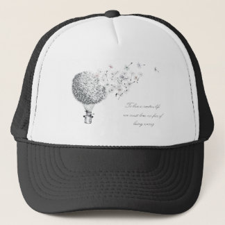 hotair dandylion trucker hat