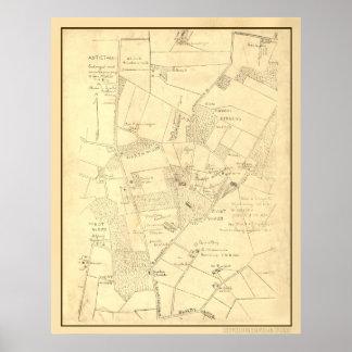 Hotchkiss Map Antietam. Poster