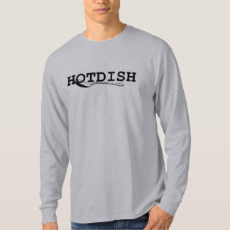HOTDISH spoon long sleeve Grey T-Shirt