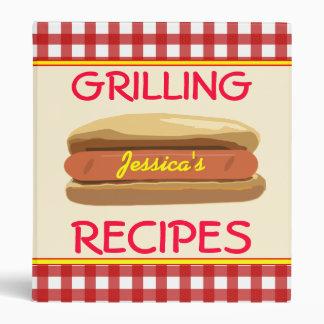 Hotdog Binder - Grilling Recipes