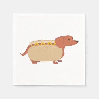 Hotdog Dog Paper Napkins