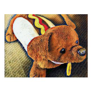 Hotdog Dog Postcards