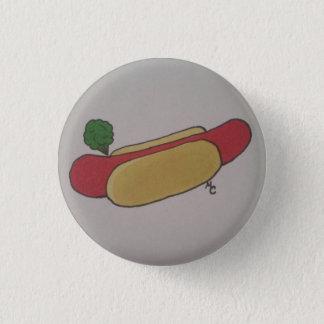 Hotdog Fart 1 Inch Round Button