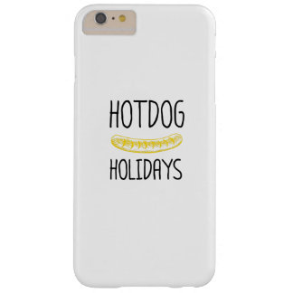 Hotdog Holidays Party Family Funny Barely There iPhone 6 Plus Case