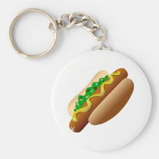 Hotdog Keychain