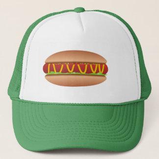 Hotdog picture trucker hat