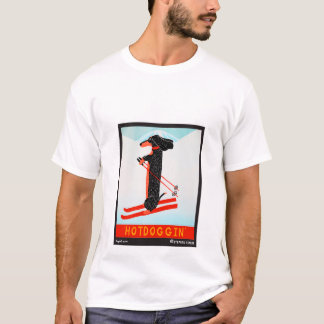 Hotdoggin - Stephen Huneck T-Shirt