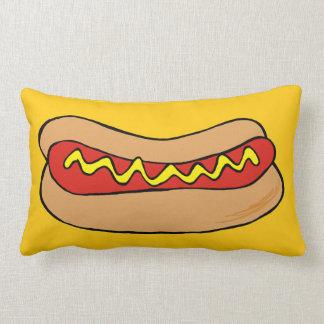 hotdogs pillow