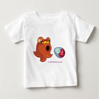 Hotdogtopus Hotdog Octopus with Ketchup & Mustard Baby T-Shirt