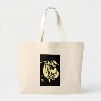 Hotei by Katsushika, Hokusai Ukiyo-e Large Tote Bag