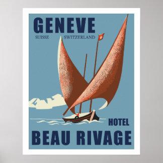 Hotel Beautiful Shore (Geneva - Switzerland) Poster