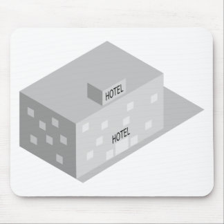 Hotel Building Mouse Pad