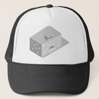 Hotel Building Trucker Hat