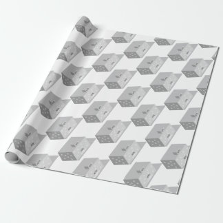 Hotel Building Wrapping Paper