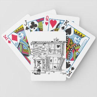 Hotel Cartoon 3442 Poker Deck