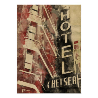 Hotel Chelsea Hotel Poster