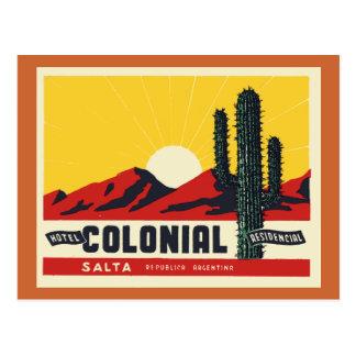 Hotel Colonial Postcard