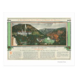 Hotel Colorado Brochure Postcard