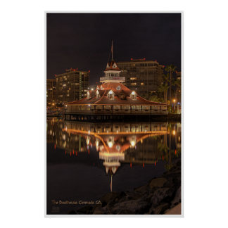 Hotel Del Boathouse Poster