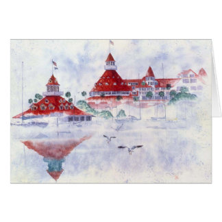 HOTEL DEL CORONADO & BOATHOUSE CARD