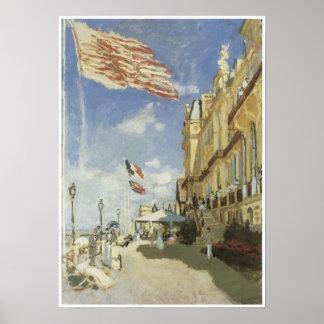 Hotel des Roches Noires, Trouville, 1870 Poster