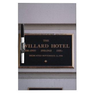 Hotel Dry-Erase Board