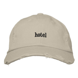 Hotel Embroidered Baseball Caps