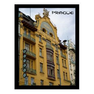 Hotel Evropa Postcard