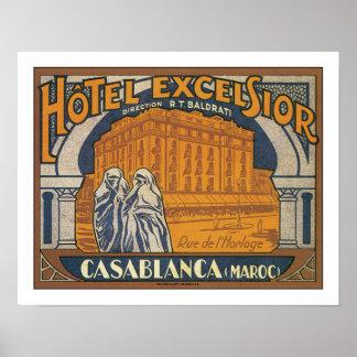 Hotel Excelsior Casablanca Poster