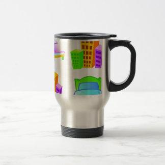 Hotel icon design coffee mug